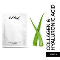 RAU Collagen & Hyaluronic Acid Tissue Mask 10 Pieces
