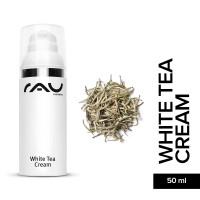 RAU White Tea Cream 50 ml - Anti-Aging-Cream with Aloe Vera & White Tea