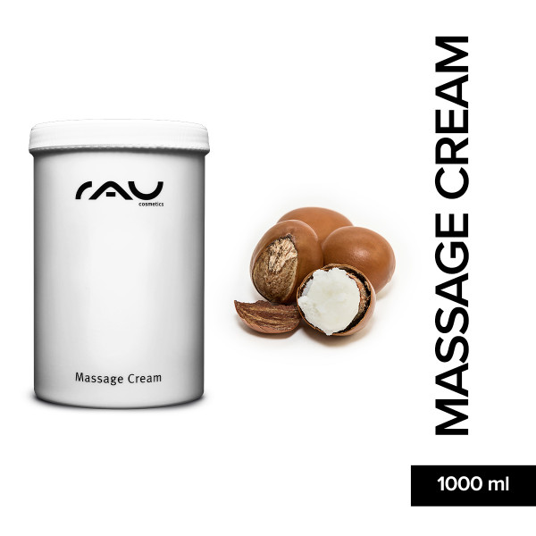 Rau Massage Cream 1000 ml Haut Pflege Online Shop Skin Care Natur Kosmetik