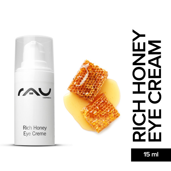 Rau Rich Honey Eye Cream 15 ml Augenpflege Hautpflege Naturkosmetik Skin Care Online Shop